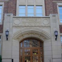 An image of Nielsen Hall at the University of Oklahoma