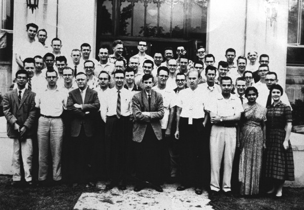 Physics Staff 1955